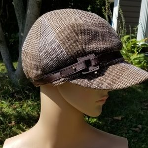 🎃Host Pick🎃Nine West paperboy cap